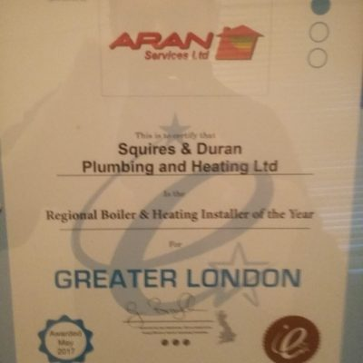 Boiler Installers Of The Year